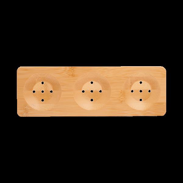 Bamboe Zeepplank – 3x Rond
