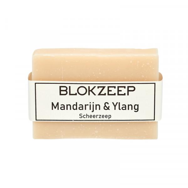 Natuurlijke Scheerzeep Mandarijn & Ylang