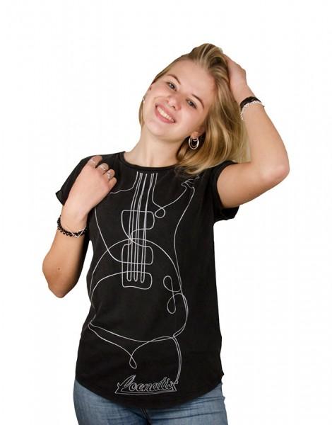 Guitar Roll-up T-shirt
