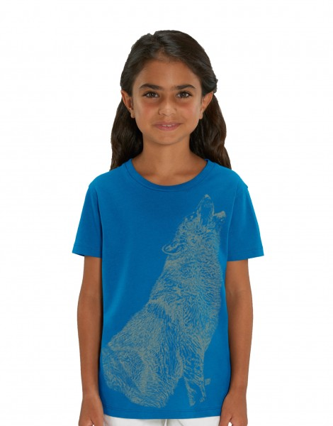 Howling Wolf Glow In The Dark T-shirt