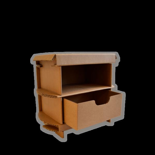 Kartonnen Nachtkastje 45cm