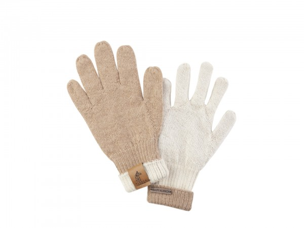 Gloves Beige Cream