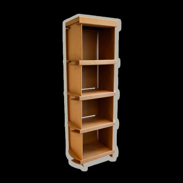 Kartonnen Boekenkast 150cm