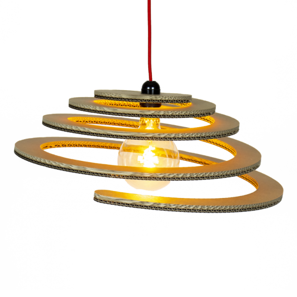Kartonnen Wanroij Hanglamp
