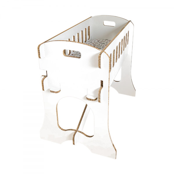 Kartonnen Babywieg Papercrib Wit