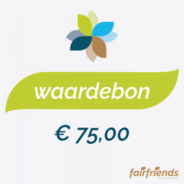 Waardebon € 75,00