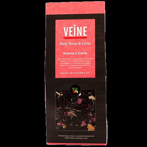 Veine Pink Rose & Lime Losse thee