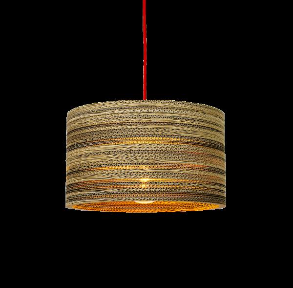 Kartonnen Tolmin Hanglamp (Maat M)