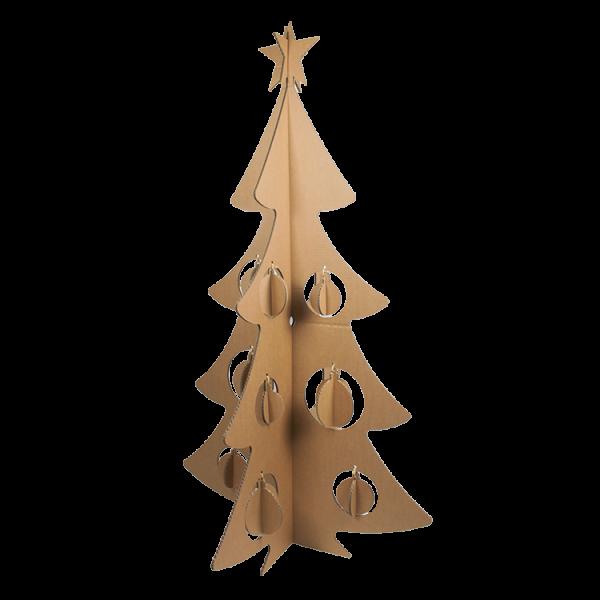 Duurzame Kerstboom in vier maten