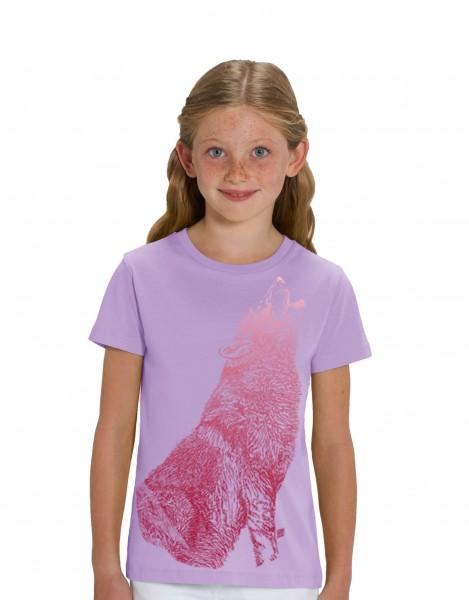 Howling Wolf Iris T-shirt
