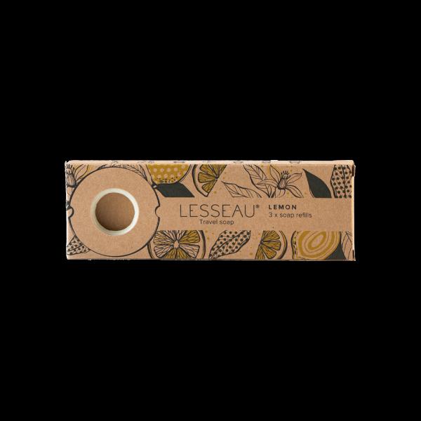 LEMON Travel soap 3x navulling