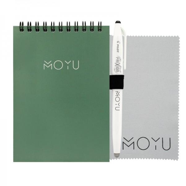 Steenpapier A6 notitieboek ringband - 3 modellen