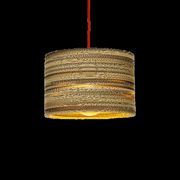 Kartonnen Tolmin Hanglamp (Maat S)