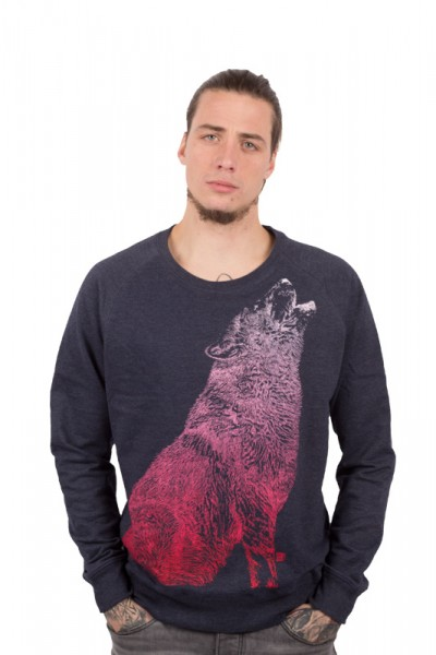Howling Wolf Sweater