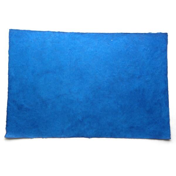 Loktapapier vel 75x50 cm blauwtinten