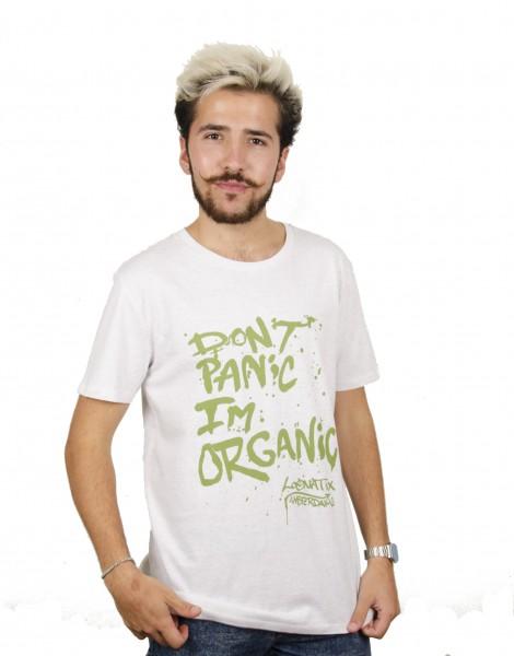 Don't Panic I'm Organic T-shirt