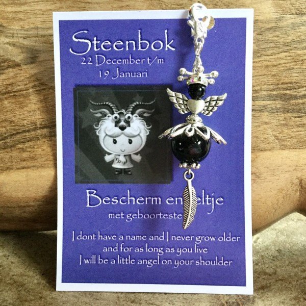 Birthstone Angel Steenbok