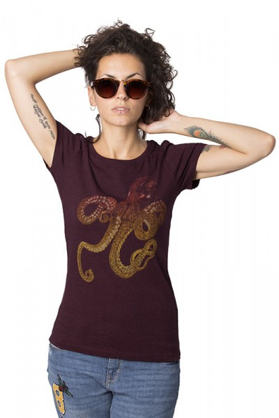 Octopus Fitted T-shirt