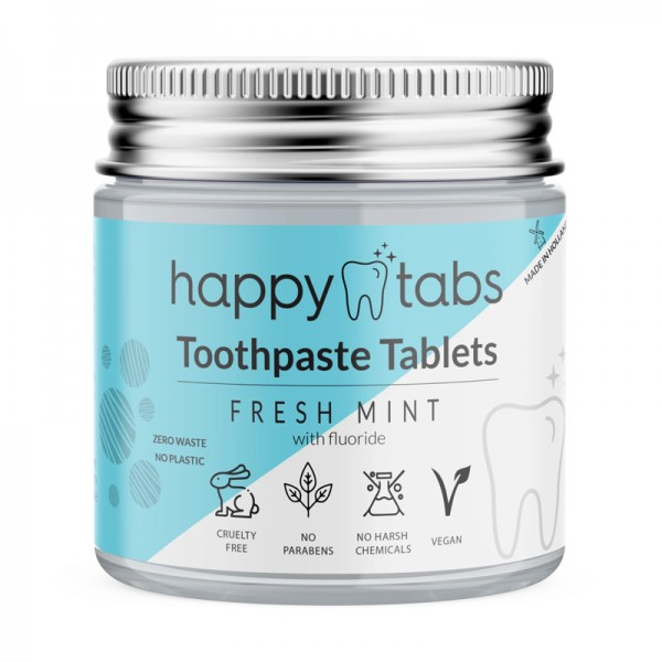 Fresh mint tandpasta tabletten