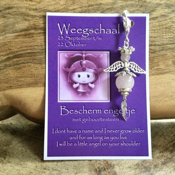 Birthstone Angel Weegschaal