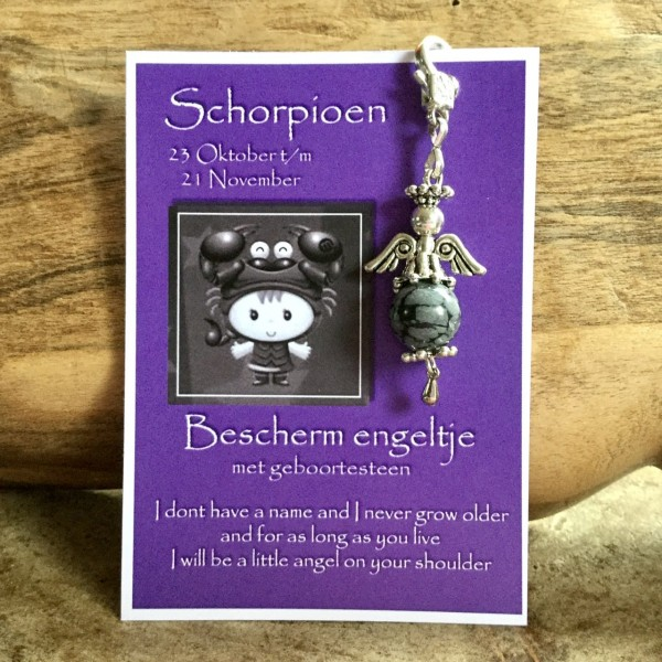 Birthstone Angel Schorpioen