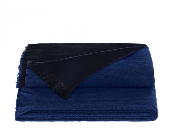 Double Plaid Royal Cobalt Blue
