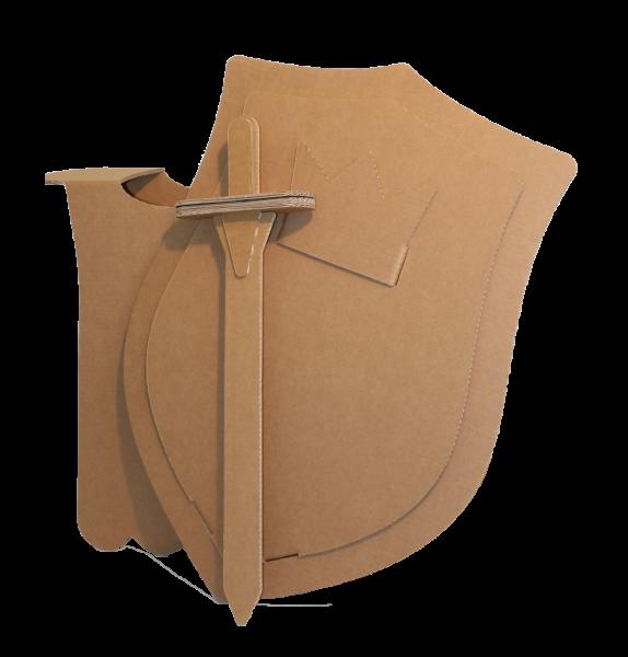 Kartonnen Ridderpak