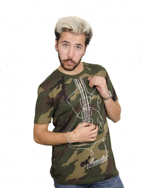 Guitar T-shirt - Camouflage