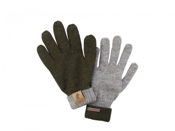 Gloves Green Grey