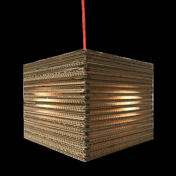 Kartonnen Kraggenburg Hanglamp