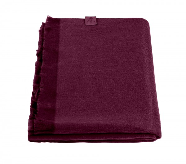 Scarf Wine Red