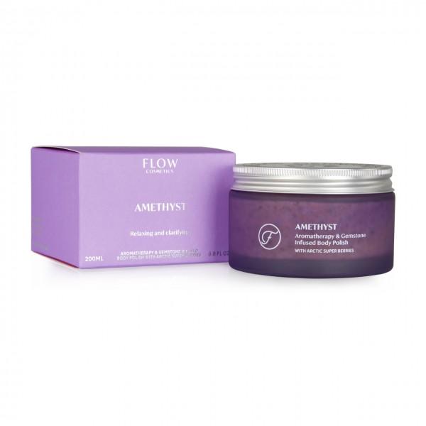 Amethyst - Aromatherapie & Edelsteen Body Polish