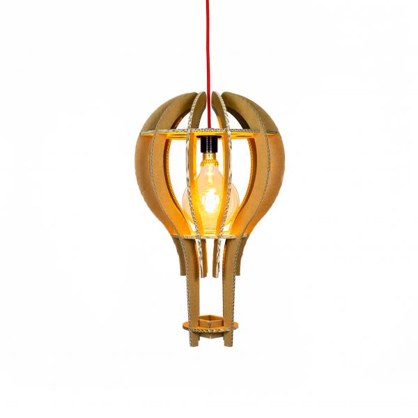 Kartonnen Lommel Hanglamp