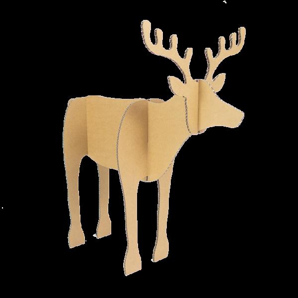 Set van 2 kartonnen Rendieren