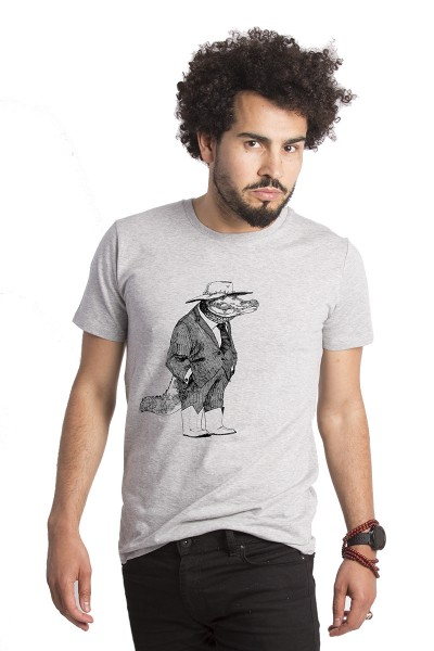 Angus The Alligator T-shirt By Lou Santos