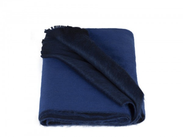 Double Scarf Royal Cobalt Blue