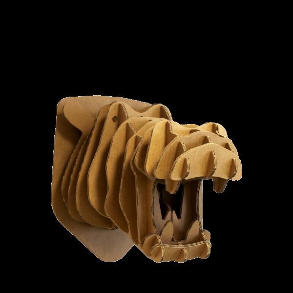 Kartonnen Nijlpaardhoofd