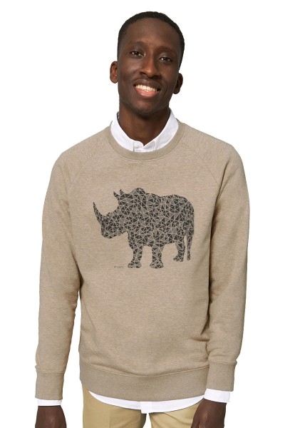 Rhino Sweater - Heather Sand
