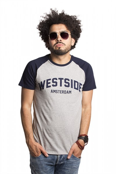 Westside Contrast Sleeve T-shirt