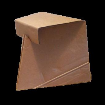 Duurzame Kartonnen Driehoek Krukje