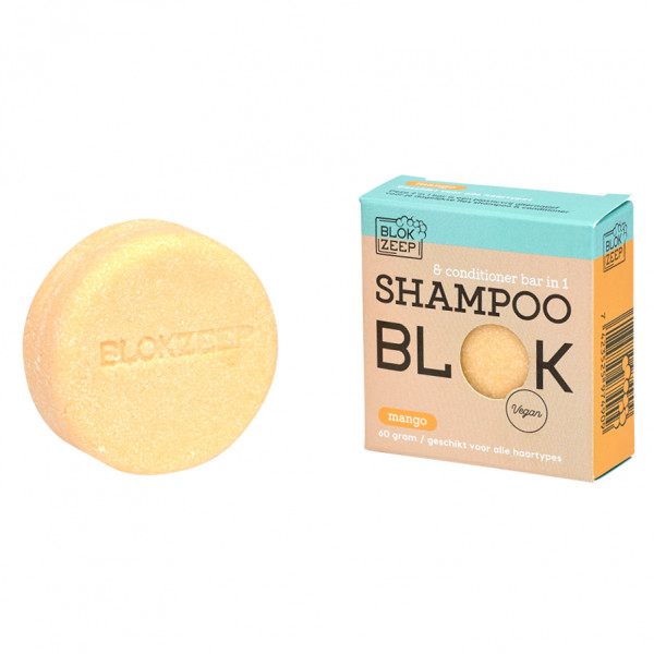 Shampoo & Conditioner Bar In 1 - Mango