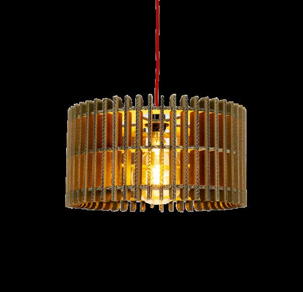Kartonnen Leeuwarden Lamp