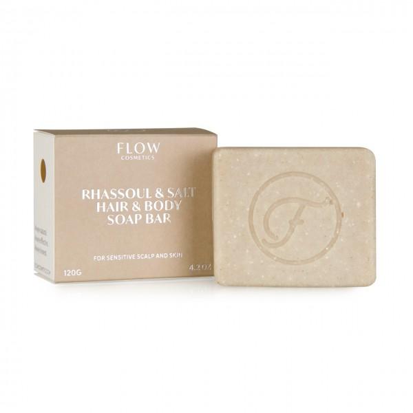 Rhassoul Clay & Salt - Shampoo bar voor de droge en gevoelige huid