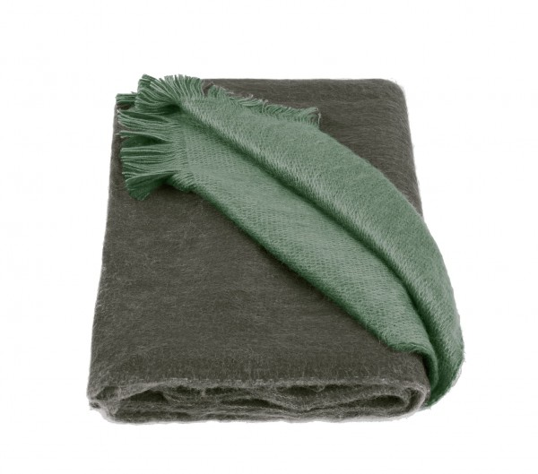 Scarf Double Face Olive & Mint