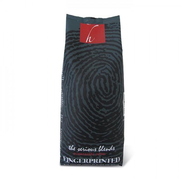 Koffiebonen Fingerprinted Espresso