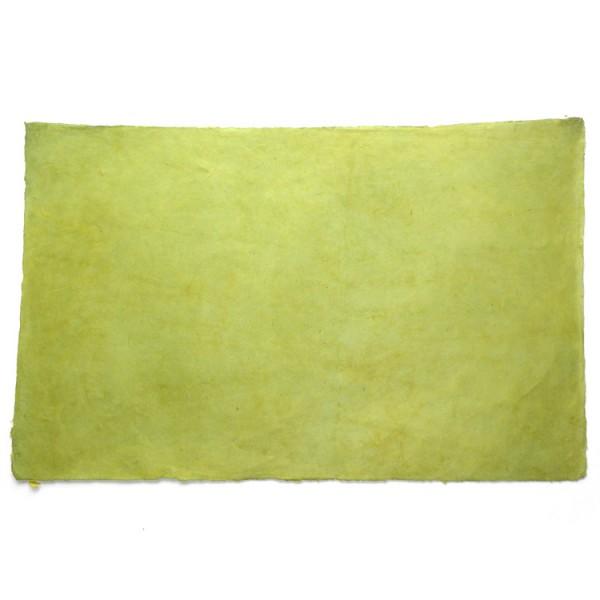 Loktapapier vel 75x50 cm groentinten