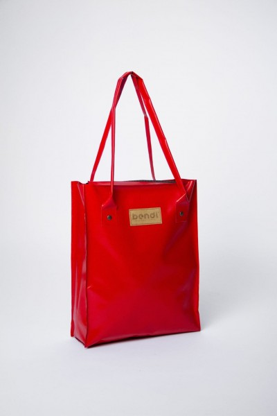 Bendl Shopper Shiny Red