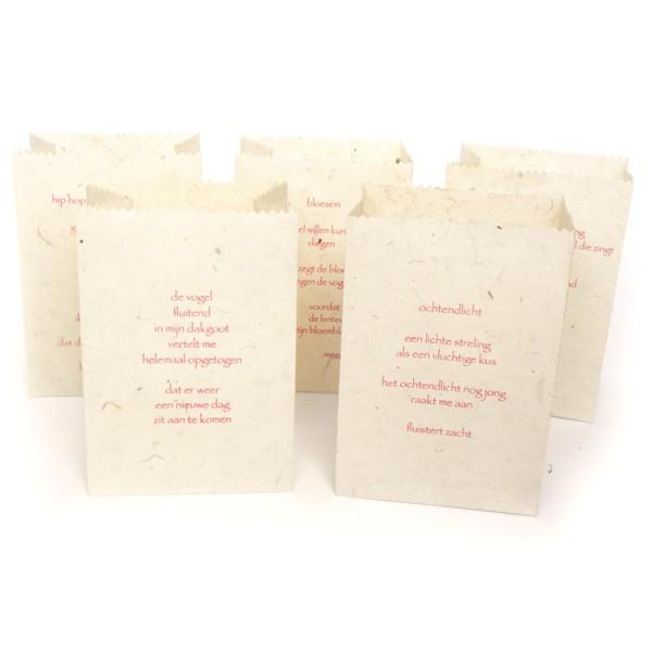 Candle bags Lentegedichten